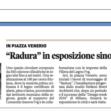Il Messaggero Veneto _Radura - Udine